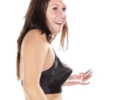 Women Try On Vintage Bras