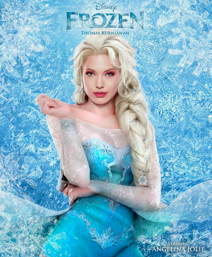 Angelina Frozen