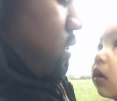 Kanye's Song To Daughter