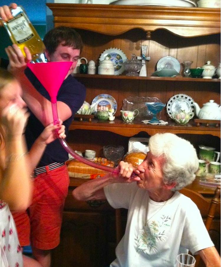 Full Grandma Swinger