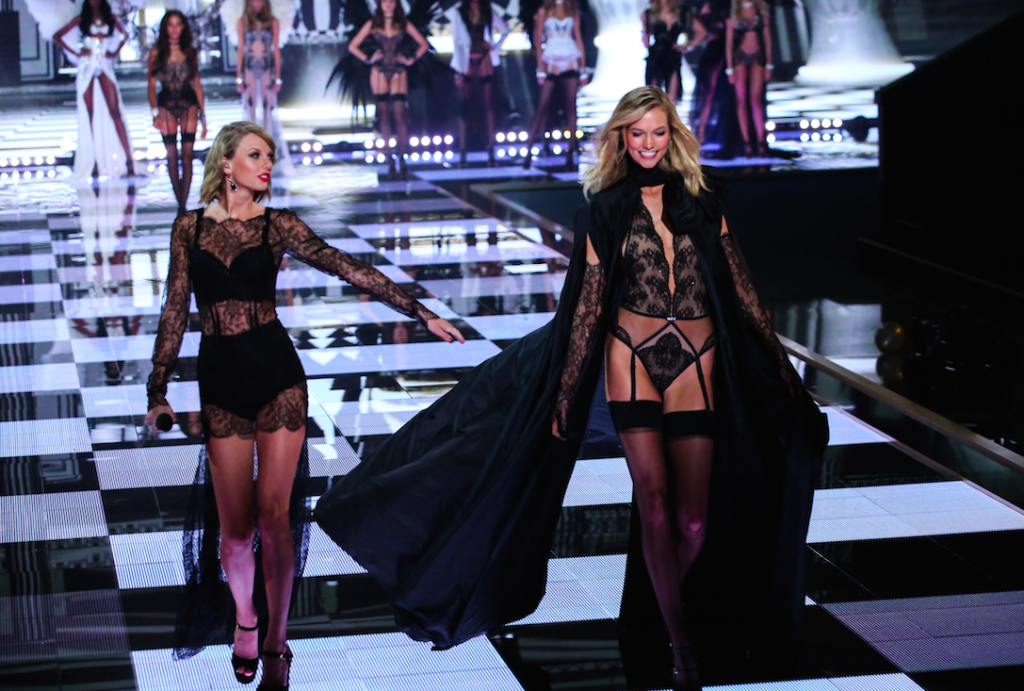 Taylor Swift And Her BFF Flavor Of The Week, Karlie Kloss, Are On The Latest Cover Of Vogue