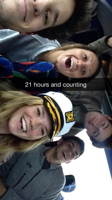 Auburn Fraternity (And Their Formal Dates) Stuck On Frozen Bus To Formal For 21 Hours