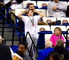 This Kid Busting A Move At A Basketball Game Steals All The Attention