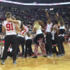 Ohio State Football Players Storm The Basketball Court And Join Dance Team In Awesome Half-Time Performance