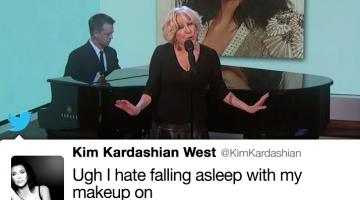 Singing Kim K Tweets