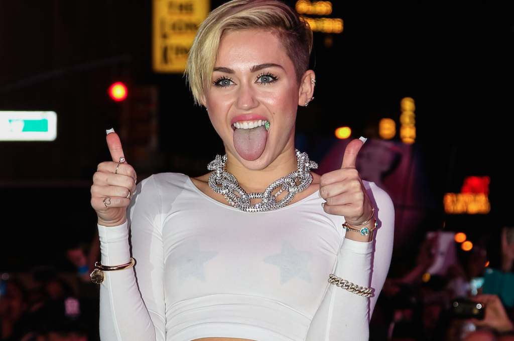 Miley Hates Kim Kardashian's Blonde Hair, Posts Hilarious Instagram Making Fun Of It