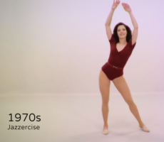 "This Eye Opening ""100 Years Of Womens' Fitness In 100 Seconds"" Shows Just How Far We've Come"