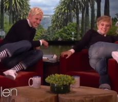Ellen's Look A Like