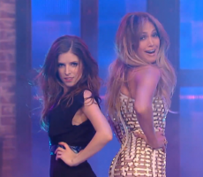 Here's Anna Kendrick Shaking It Next To J.Lo And John Krasinski In Drag