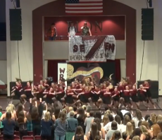 Alpha Xi Delta At Elon University Brings The Heat With This Amazing Dance