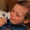 Little Boy Throws A Hilarious Tantrum Because He Is So Not Ready For Hillary Clinton