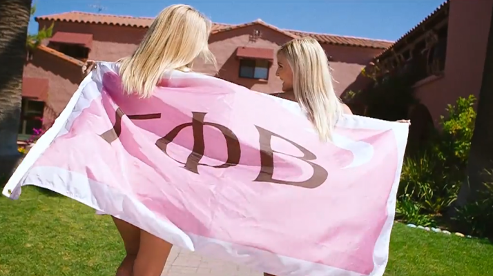 """Arizona Gamma Phi Beta's Recruitment Video Is A Real Life """"Legally Blonde"""""""