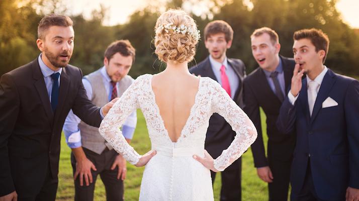 Фото я на свадьбе друзей