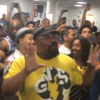 "The Broadway Casts Of ""The Lion King"" And ""Aladdin"" Have An Airport Sing-Off That's Like A Scene From A Movie"