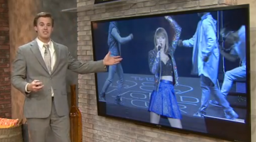 This Weatherman Gave His Forecast Entirely Out Of Taylor Swift Songs