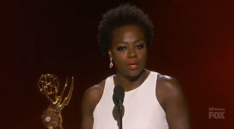 Kerry Washington's Reaction To Viola Davis's Emmy Speech Is OMG