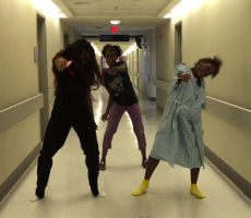 You Can't Not See This Pregnant Woman Whip And Nae Nae Her Way Through Contractions