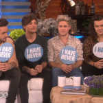 "Things Got Real One Direction Played ""Never Have I Ever"" On Ellen"