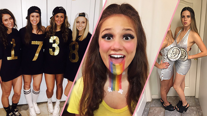 The competition was tough for this yearu0027s best costumes. The heat was most definitely brought. After days of hot glueing driving back and forth to Hobby ...  sc 1 st  Total Sorority Move & Total Sorority Move | The 33 Best Halloween Costumes Sorority Girls ...