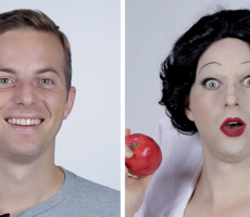 Guys Lose It When They See Their Disney Princess Makeovers
