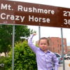 Cutest Presidential Expert Macey Visits Mount Rushmore And It's Adorable