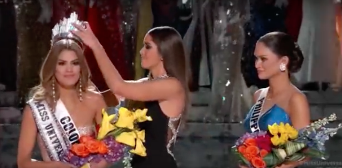 Miss Universe Refuses To Share Her Crown, Because She's Queen Of The World