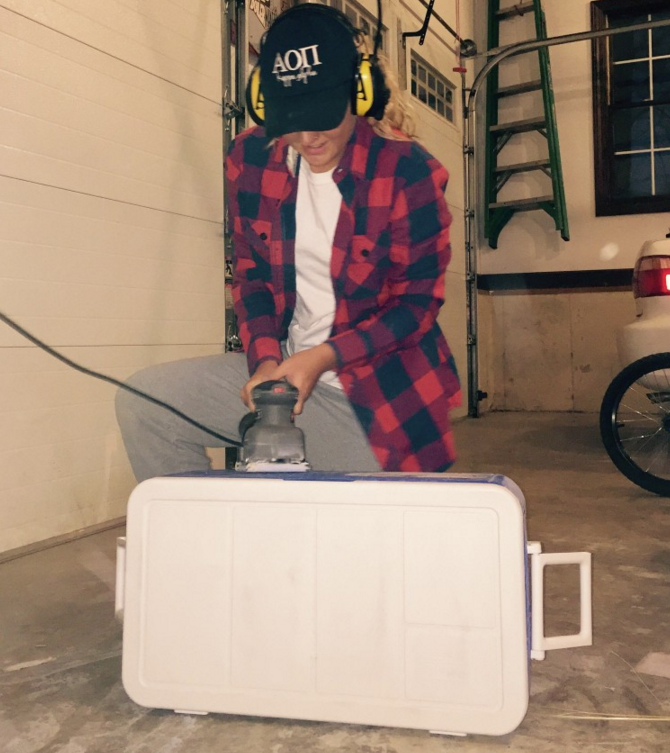 The 6 Stages Of Painting A Cooler