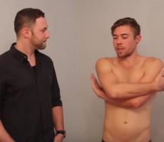 Straight Men Touching Peens