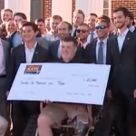 Kappa Alpha Order At High Point Surprises Wounded Veteran With High Tech Wheelchair
