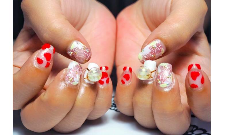 snowball nails