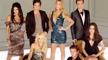 "The cast of ""Gossip Girl"""