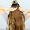 100 layers of clip in hair extensions