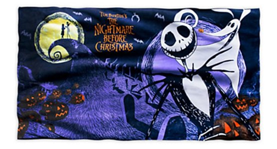 nightmare before xmas towel