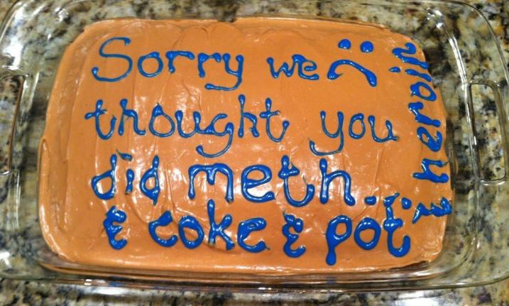 aplology cake
