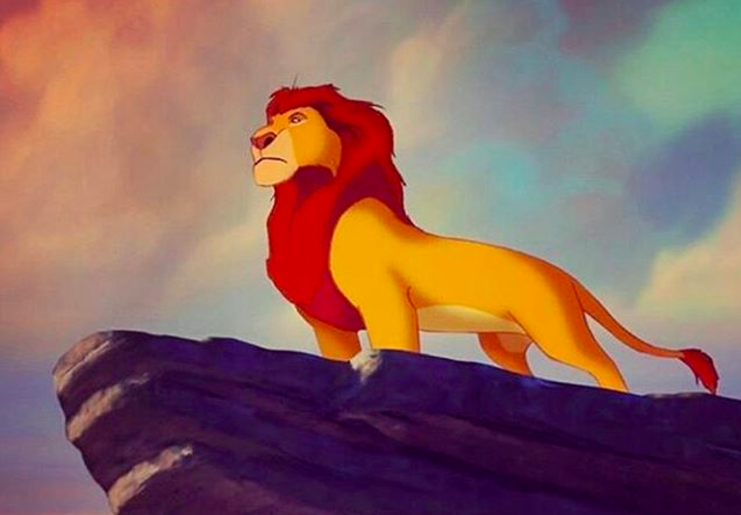 lion king opening scene