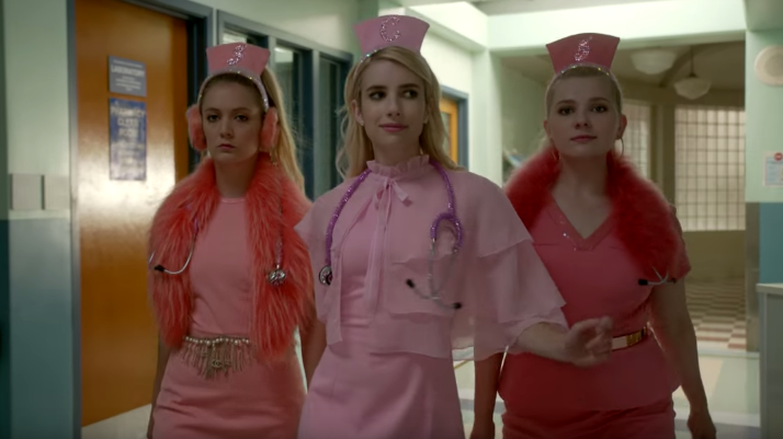the scream queens cast season 2