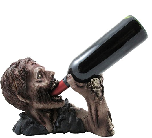 zombie wine bottle holder amazon