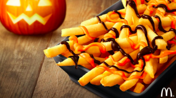 Pumpkin french fries