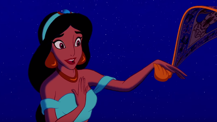 Princess Jasmine in Aladdin