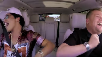 Bruno Mars On Carpool Karaoke With James Corden TONIGHT!