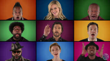 "Jimmy Fallon's ""Wonderful Christmas Time"" A Cappella Is Fire"