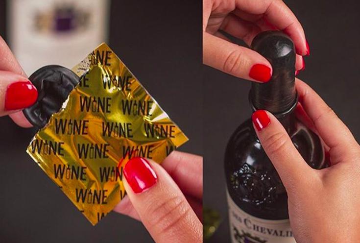 Wine Condoms, For Your Sluttiest Wine