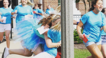 A College Freshman Explains Bid Day To Her GDI Roommate
