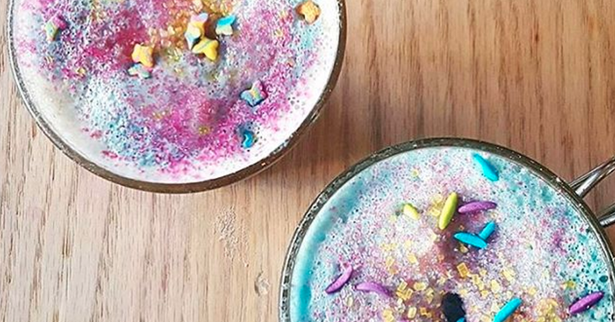Unicorn Lattes Exist, Because White Women Will Do Anything For The 'Gram