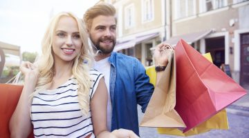 Man Endangering Self And Others To Carry Shopping Bags For Wife Is Relationship Goals