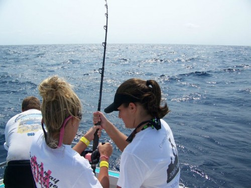 Phi Mu Deep Sea Fishing in Palm Beach. TSM.