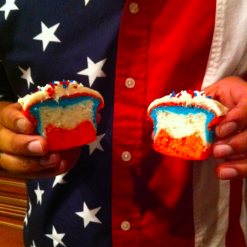 Red, White, and Blue :)