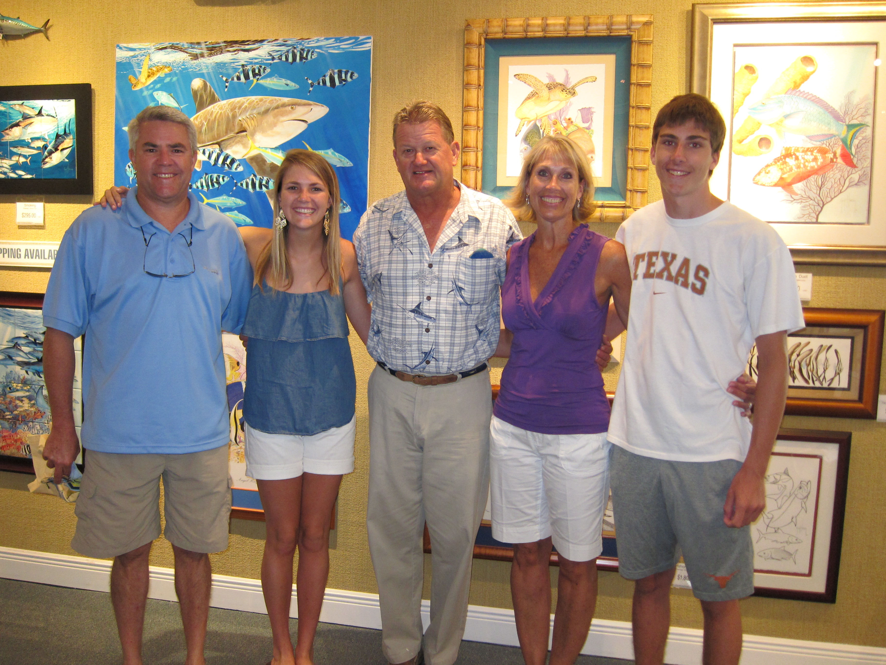 Meeting Guy Harvey. TSM/TFM.