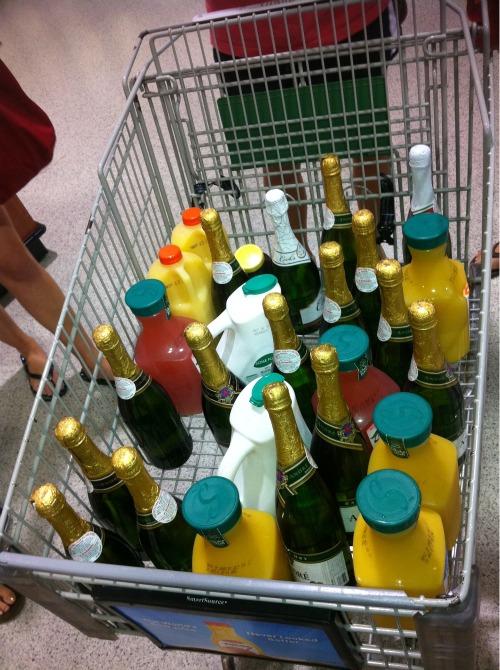 Bid day bottles. TSM.