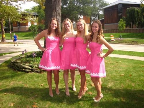 When I hear pink dress I just hear Lilly. TSM.